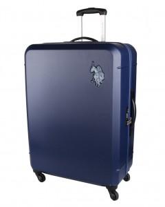 U.S. POLO ASSN. Cestovní kufr Bridle 102 l – tmavě modrá