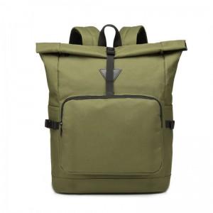 Miss Lulu E6839 rolovací školní batoh zelený