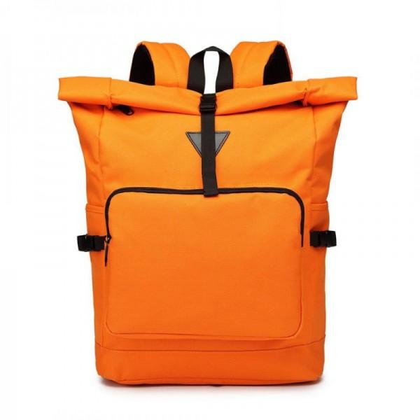 Miss Lulu E6839 rolovací školní batoh oranžový