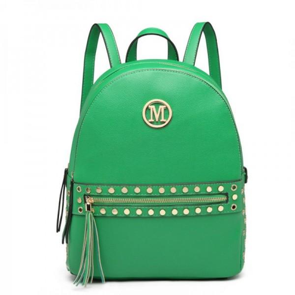 Miss Lulu LH6807 dámský stylový batůžek zelený