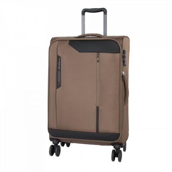 March Stardust M Kashmir rozšiřitelný cestovní kufr na 4 kolečkách TSA 68 cm 83 l