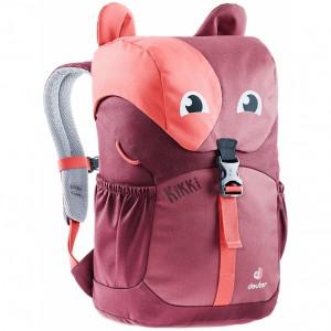 Dětský batoh DEUTER Kikki cardinal-maron