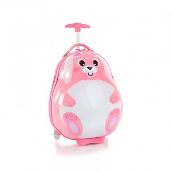 Heys Travel Tots Lightweight Kids Rabbit dětský skořepinový cestovní kufr 46 cm