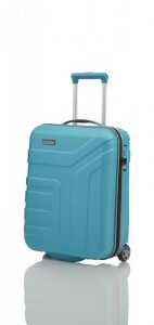 Travelite Vector 2w S Turquoise palubní cestovní kufr na 2 kolečkách TSA 55 cm 44 l