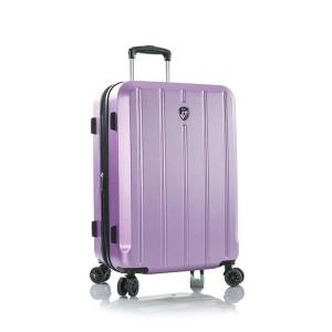 Heys Para-Lite M Lilac cestovní kufr na 4 kolečkách TSA 66 cm 83 l