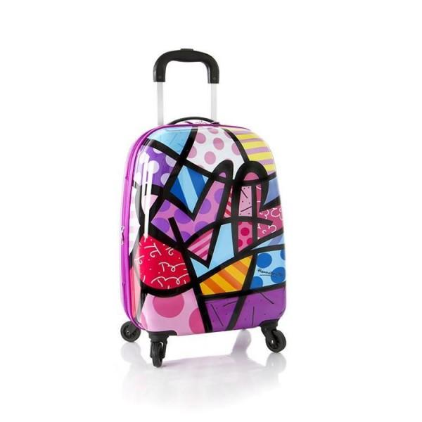 Heys Britto Tween Spinner Festival dětský cestovní kufr na 4 kolečkách 51 cm