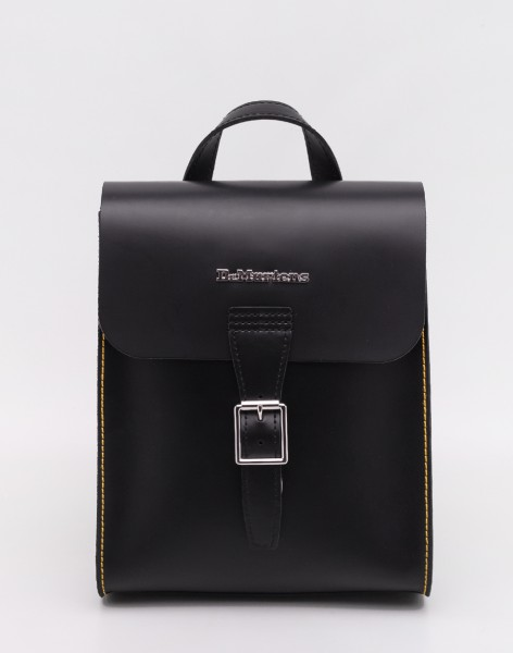 Batoh Dr. Martens Mini Leather Backpack Black + Black Smooth + Kiev