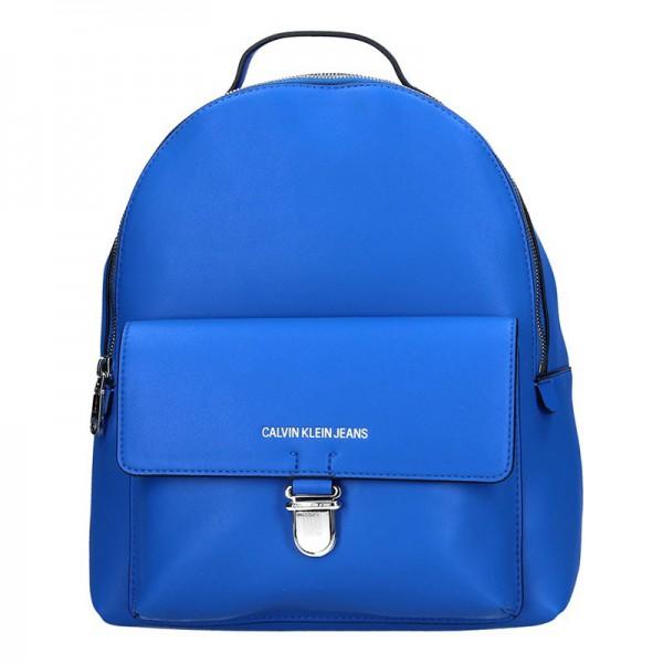 Dámský batoh Calvin Klein Jeans Milla – modrá