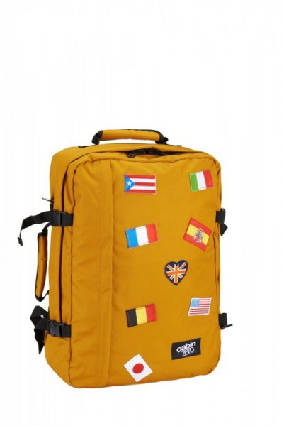 CabinZero Classic 44L Flag Orange Chill ultra-light palubní batoh-taška 51x36x19 cm