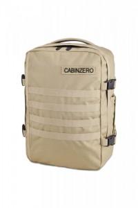 CabinZero Military 28L Light Khaki ultra-light palubní batoh-taška 42x30x15 cm