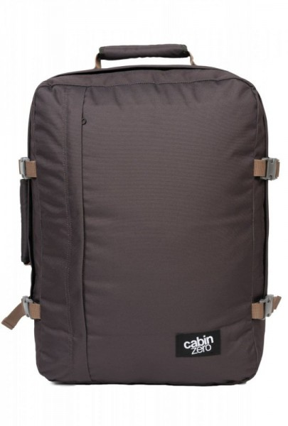 CabinZero Classic 44L Black Sand ultra-light palubní batoh-taška 51x36x19 cm