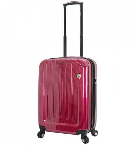 Mia Toro M1321 Como S+ Wine skořepinový cestovní kufr na 4 kolečkách 60 cm 46-57 l
