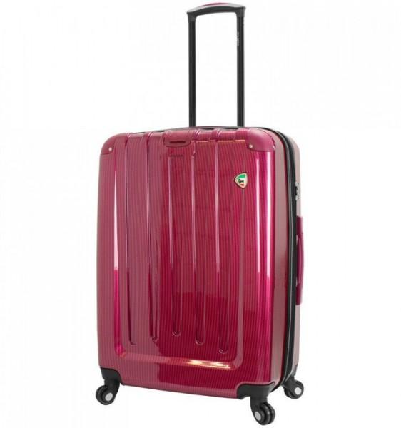 Mia Toro M1321 Como L Wine skořepinový cestovní kufr na 4 kolečkách 70 cm 77-96 l