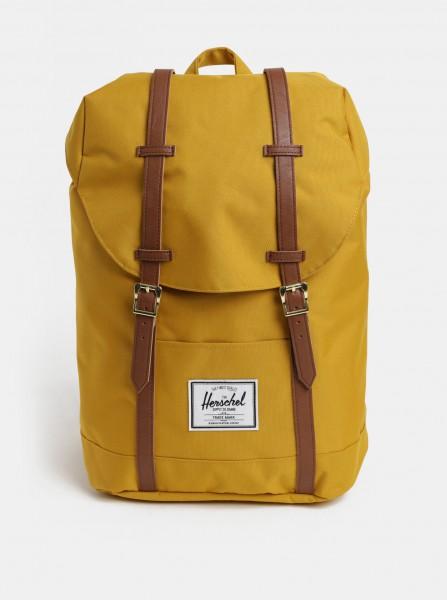 Hořčicový batoh Herschel Retreat 19,5 l