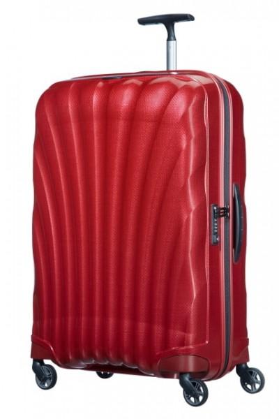 Samsonite Cestovní kufr Cosmolite Spinner V22 94 l – červená