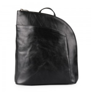 Sněžka Náchod Dámský kožený batoh 5114 – černá