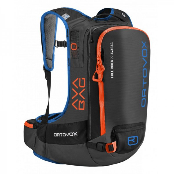Ortovox Free Rider 22 Avabag Kit Ortovox, black anthracite 1 B
