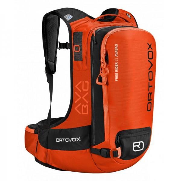 Ortovox Free Rider 22 Avabag Kit Ortovox, crazy orange 0 B