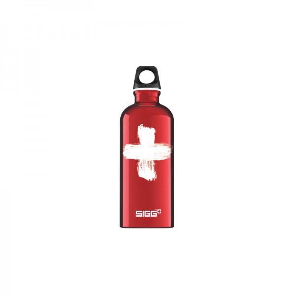 Sigg lahev Design 0,6l Swiss Sigg, Swiss Red 4 D