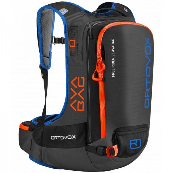 Ortovox Free Rider 22 Avabag (bez jednotky) Ortovox, black anthracite 0 B