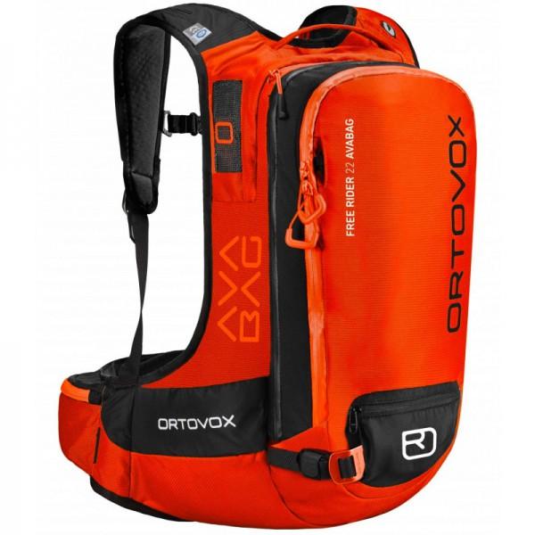 Ortovox Free Rider 22 Avabag (bez jednotky) Ortovox, crazy orange 0 B