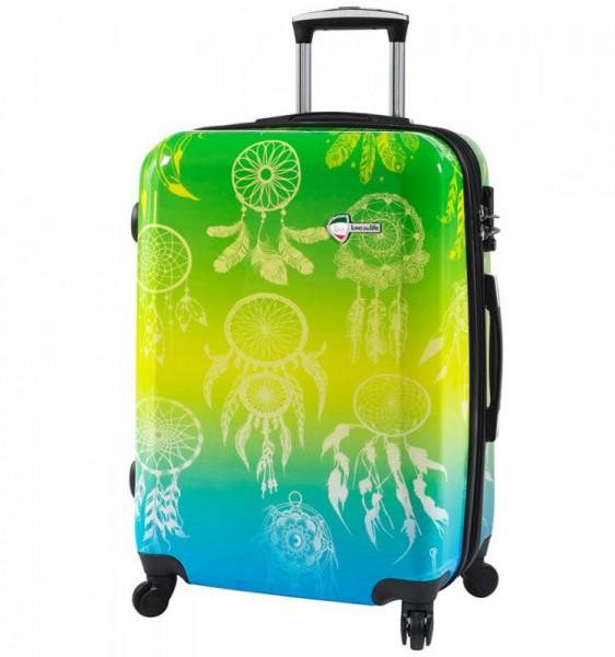 Mia Toro M1091 Love This Life M Dream Catcher cestovní kufr TSA 64 cm 62-78 l