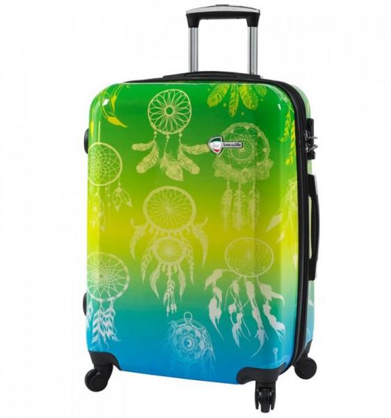 Mia Toro M1091 Love This Life L Dream Catcher cestovní kufr TSA 74 cm 98-123 l