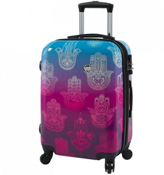 Mia Toro M1092 Love This Life L Hamsa cestovní kufr TSA 74 cm 98-123 l