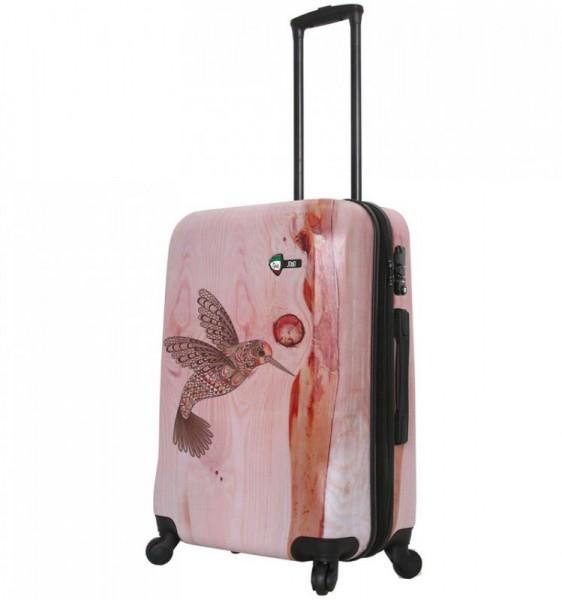 Mia Toro M1338 M Hummingbird cestovní kufr na 4 kolečkách TSA 64 cm 62-78 l