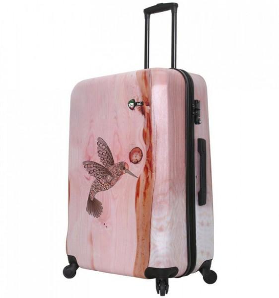 Mia Toro M1338 L Hummingbird cestovní kufr na 4 kolečkách TSA 74 cm 98-123 l