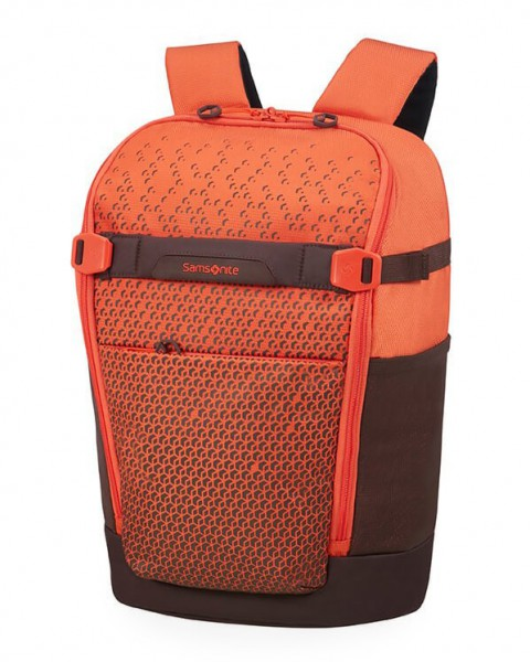Samsonite Batoh na notebook Hexa-Packs BP S Day CO5 16 l 14″ – oranžová