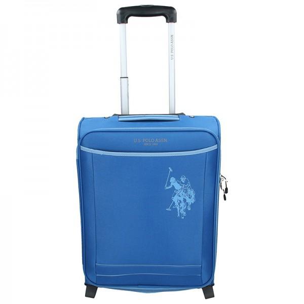 Kabinový cestovní kufr U.S. POLO ASSN. Little – modrý
