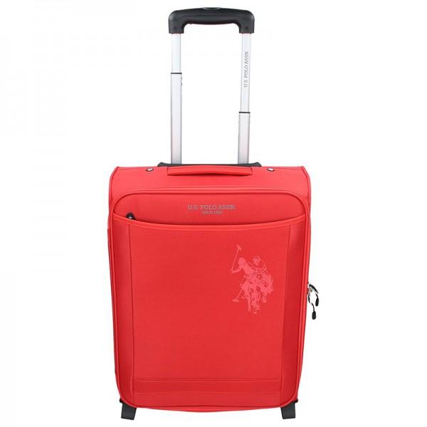 Kabinový cestovní kufr U.S. POLO ASSN. Little – červená