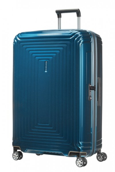 Samsonite Cestovní kufr Neopulse Spinner 44D 94 l – modrá
