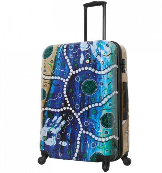 Mia Toro M1365 L Jenalup cestovní kufr na 4 kolečkách TSA 74 cm 98-123 l