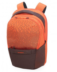 Samsonite Batoh na notebook Hexa-Packs BP M EXP Work CO5 21/25 l 15.6″ – oranžová