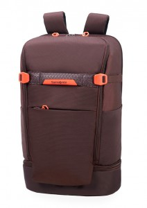 Samsonite Batoh na notebook Hexa-Packs BP L Travel CO5 22 l 15.6″ – tmavě fialová