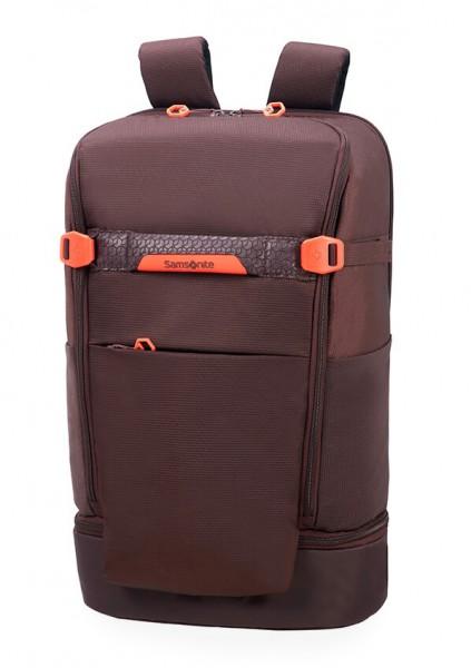 Samsonite Batoh na notebook Hexa-Packs BP L Travel CO5 22 l 15.6″ – tmavě fialová