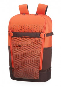 Samsonite Batoh na notebook Hexa-Packs BP L Travel CO5 22 l 15.6″ – oranžová