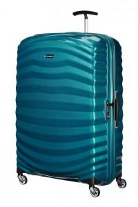 Samsonite Cestovní kufr Lite-Shock Spinner 98V 124 l – modrá