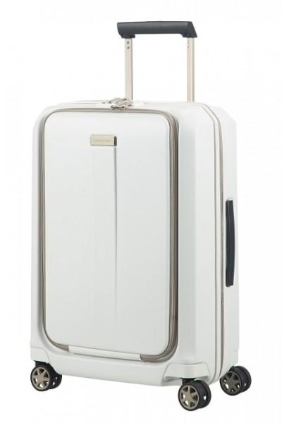 Samsonite Kabinový cestovní kufr Prodigy Spinner 00N 40 l – bílá