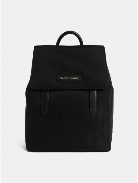 Černý batoh Smith & Canova