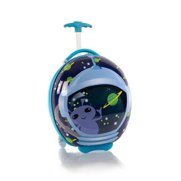 Heys Kids 2w Outer Space dětský skořepinový cestovní kufřík 41 cm