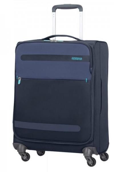 American Tourister Herolite 4w S Midnight Blue palubní kufr 55x40x20 cm 1,5 kg