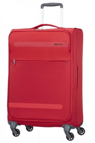 American Tourister Herolite M Formula Red cestovní kufr 67 cm 1,99 kg