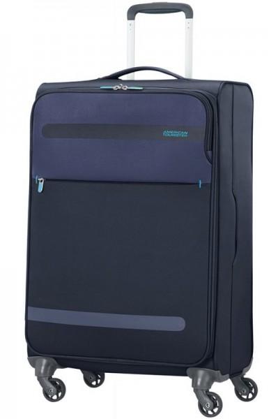American Tourister Herolite M Midnight Blue cestovní kufr 67 cm 1,99 kg