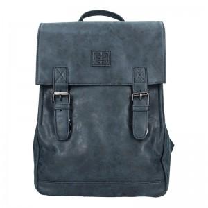 Moderní dámský batoh Enrico Benetti Vilma – tmavě modrá
