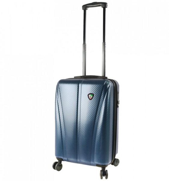 Mia Toro M1238 Usini S Navy cestovní kufr na 4 kolečkách TSA 57 cm 39-49 l