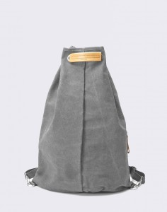 Batoh Qwstion Simple Bag Washed Grey