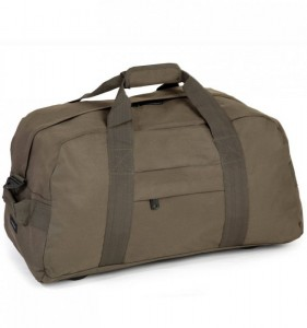 MEMBER'S HA-0046 lehká cestovní taška 30x55x30 cm 50 l khaki